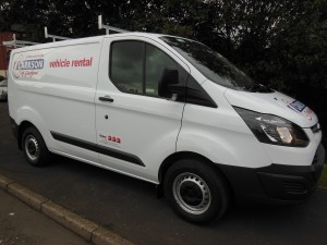 Short and long term van rental from Clarksons of Glasgow