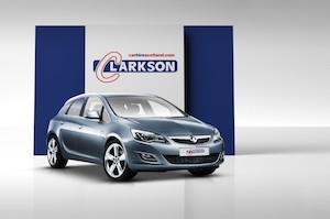 Astra car hire from Clarksons Glasgow