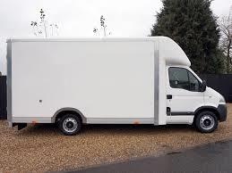 Vauxhall Movano 'Lo Loader' high capacity Luton box van for hire.