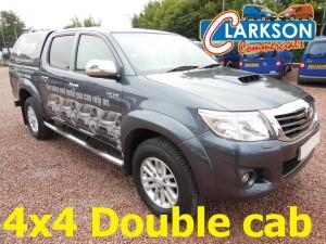 4x4 double cab diesel pick up hire Scotland