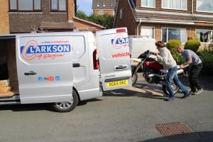 Short notice, short term van hire Clarkson Vehicle Rental Glasgow