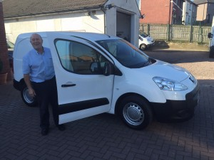 Peugeot Partner van long term hire