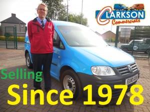 Barry Clarkson van hire in Glasgow since 1978
