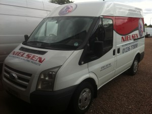 hire van vehicle livery