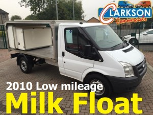 Milk float for sale Clarksons of Glasgow