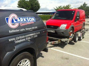Van hire uplift and delivery Clarkson Vehicle Rental