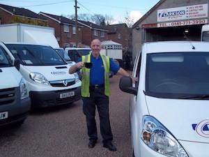 Clarkson van hire Glasgow, Lanark, Bellshill, Motherwell