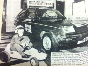 Barry Clarkson, Clarkson Vehicle Rental, Glasgow