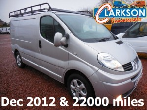 Quality used vans for sale Clarkson of Glasgow