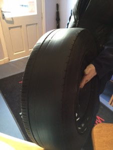 Free tyre check from Clarkson Vehicle Hire Glasgow