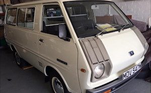 1978 Toyota Lite Ace day van