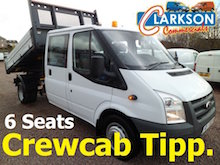 6 seat crewcab tipper hire Clarkson of Glasgow