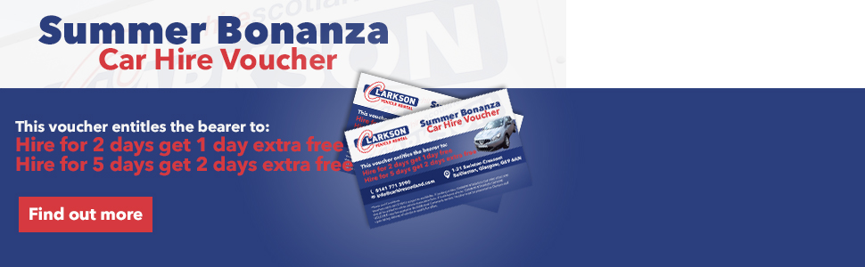 Summer Bonanza Car Hire Voucher