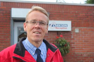 Barry Clarkson, owner of Clarkson Car and Van Hire