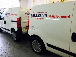 Small vans for rental in Glasgow