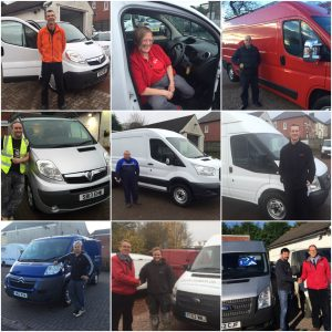 Clarksons of Glasgow van sales customers