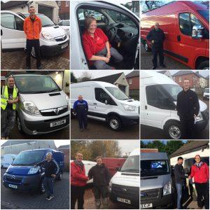 Clarksons of Glasgow van sales customers