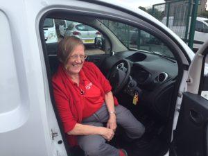 Clarksons van hire and sales Glasgow