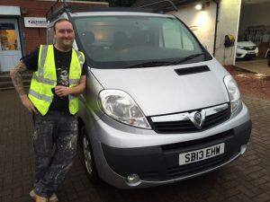 Clarksons van hire and sales East Kilbride customer