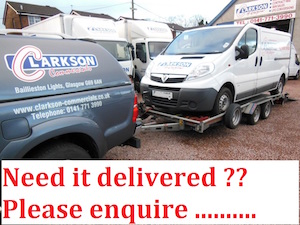 Free hire car and van delivery