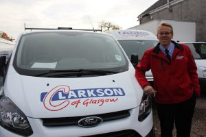 Barry Clarkson 38 years after Clarkson started in business.