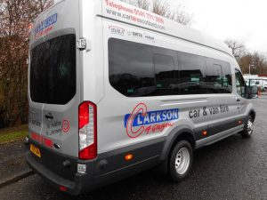 Minibus hire Scotland