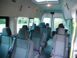 9-17 seat minibus hire glasgow