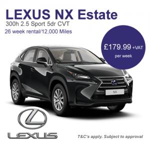 Lexus Short Term Rental Offer
