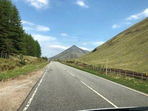 Campervan road trip Scottish Highlands