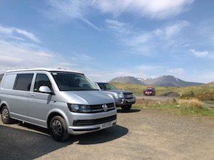 Campervan trip in Scotland