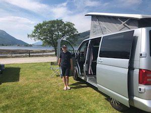 Campervan short break in Scotland
